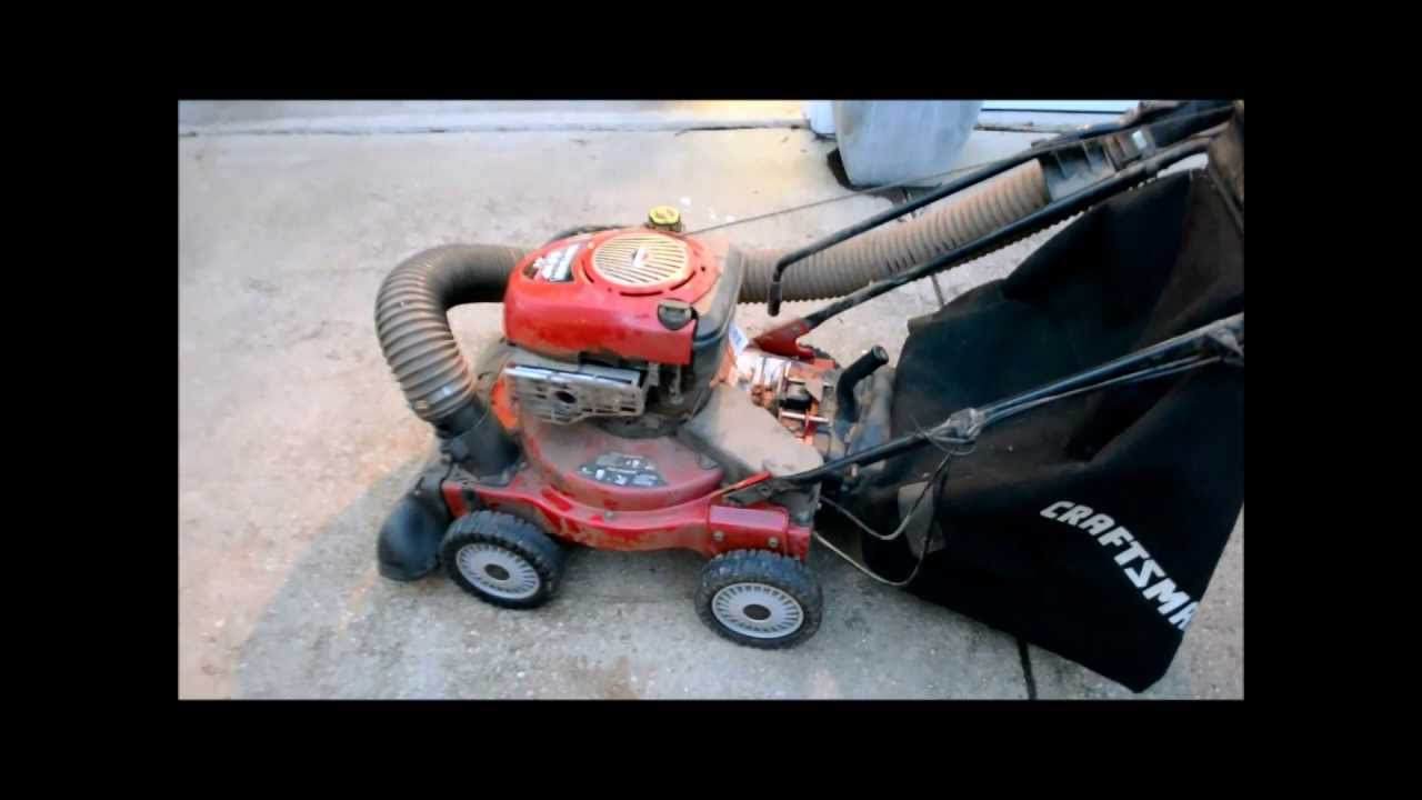Free Craftsman 4 In 1 Yard Vacuum Chipper Blower Leaf