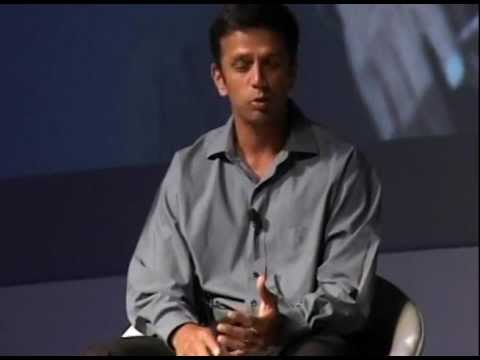 Rahul Dravid in conversation with TCS' CEO - Part 1