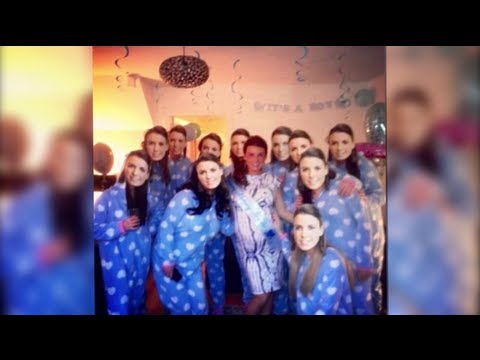 Coleen Rooney Surprised By MiniMe's at Baby Shower