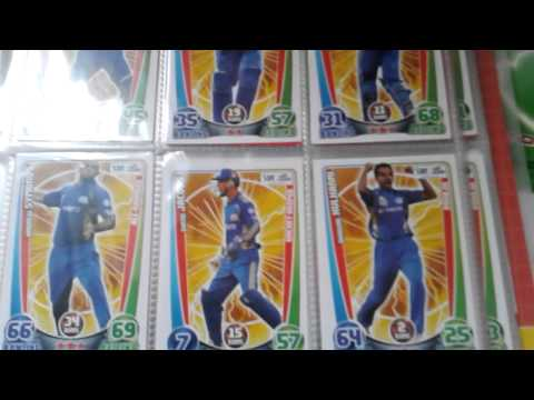Unboxing BOOSTER BOX     Topps CRICKET ATTAX 2014 15 IPL     Opening