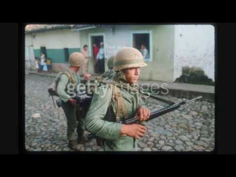 Salvadoran Civil War Military Pic's Song Hero of War by Rise Against.