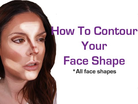 How To Contour Your Face Shape Makeup For Beginners Face