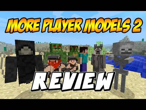 MINECRAFT: REVIEW MOD MORE PLAYER MODELS 2 MOD PARA Minecraft 1.6.2 y 1.6.4 [DESCARGA]
