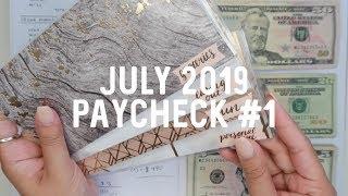 BUDGET w/ ME: July 2019 Paycheck #1 | Jerlyn Phan