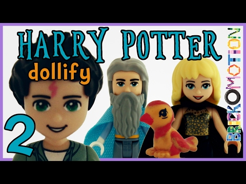 If Harry Potter characters were LEGO minidolls 2