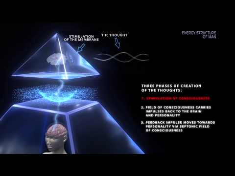 The human energy structure in the invisible world.