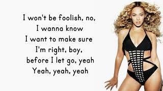Beyonce - Before I Let Go (Lyrics)