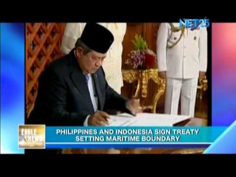 PHL and Indonesia sign deal setting maritime boundaries