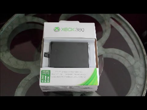 Xbox 360 500 GB Hard Drive Unboxing. Setup. Review