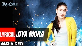 Jiya Mora With Lyrics | Ra.One | ShahRukh Khan, Kareena Kapoor