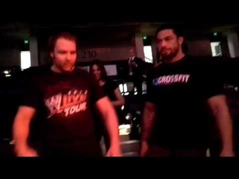 WWE The Shield Entrance