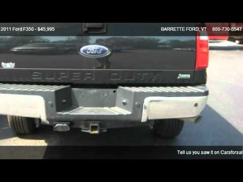 2011 Ford F350 Lariat - for sale in SWANTON, VT 05488