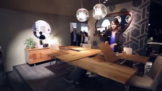 Ozzio Italia | Salone del mobile 2016 | Milan | SPACE SAVING FURNITURE