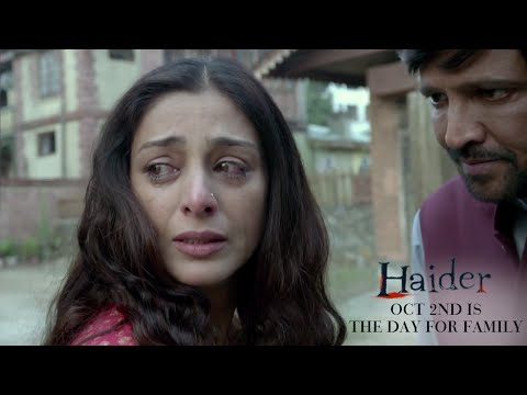 Haider | Oct. 2nd Is The Day for Family | Shahid Kapoor & Shraddha Kapoor