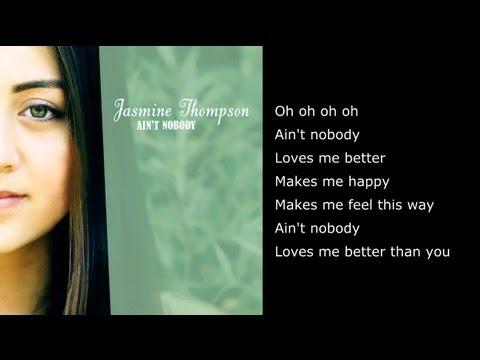 Ain't Nobody - Chaka Khan (Cover By Jasmine Thompson) - Full Version with Lyrics