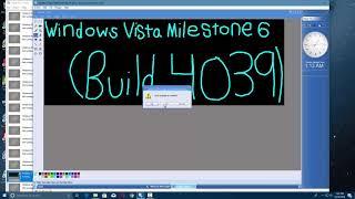Windows Vista Milestone 6 (Build 4039) in Virtual PC 2007!