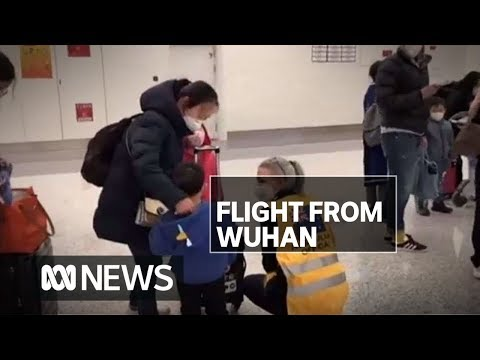 Hourly mask changes and a stop in WA: Nearly 250 Australians flying in from Wuhan | ABC News