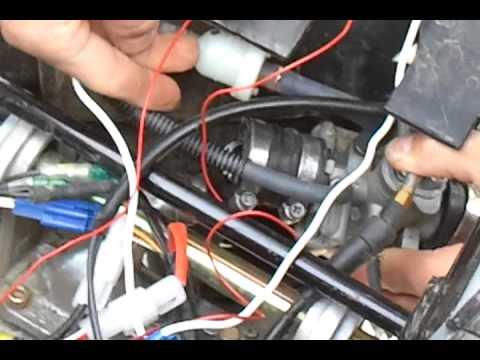 Ass- Drossel Entfernen TGB Bullet RS Morini Motor