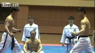 Phenomenal North Korean Taekwondo. Real martial art demonstration.
