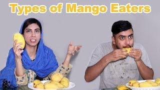 Types of Mango Eaters A Funny Video | Kitchen With Amna | Life With Amna