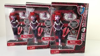 Operetta Unboxing Review Monster High