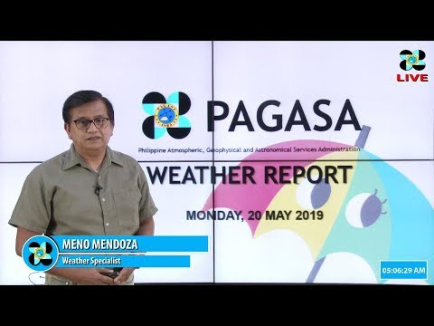 Public Weather Forecast Issued at 400 AM May 20, 2019