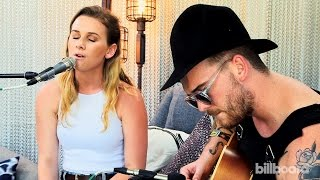 "Broods ""Mother & Father"" Live Billboard Acoustic Session - Lollapalooza 2015"