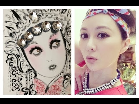 ♛[QQ 愛創作]假睫毛妝畫♛Expired Makeup Art , Falsie Chinese Art