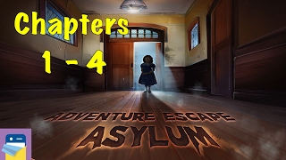 Adventure Escape Asylum: Chapters 1, 2, 3, 4 Walkthrough Guide & iOS / Android Gameplay