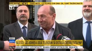download musica Traian Basescu despre Antena3 si RTV