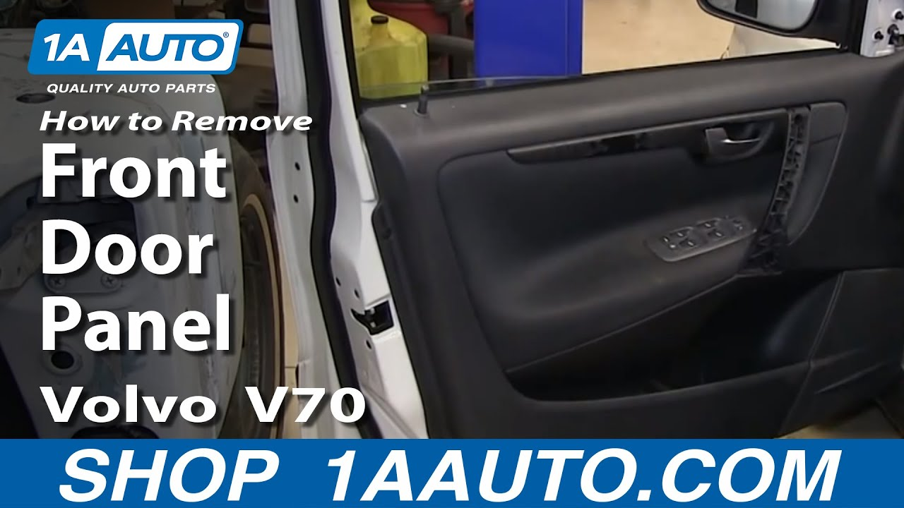 How To Install Remove Replace Front Door Panel Volvo V70 YouTube
