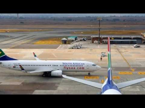 Airports & Planes from our South Africa Journey