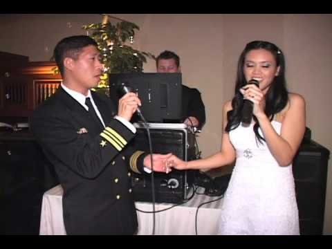 Bride and Groom Sing, 