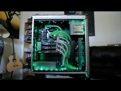 Throne Industrial: 6-Core Tri-SLI GTX 680 Custom Water Cooled Gaming System