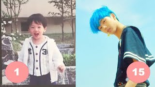 Ji Sung NCT Childhood | From 1 To 15 Years Old