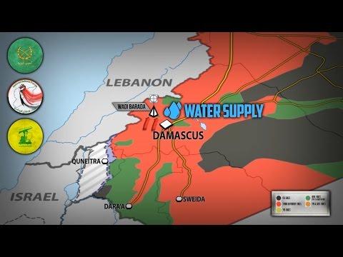 5 января 2017. Военная обстановка в Сирии. Битва за воду для Дамаска. Русский перевод.