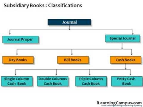 What are subsidiary books? Why are they maintained?