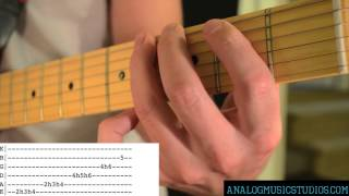 Sublime Video - Santeria Solo by Sublime Guitar Lesson with tab
