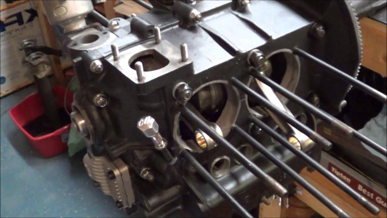 Rebuild Automatic Transmission >> VW bug engine rebuild - YouTube