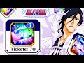 🔥 70 ★5 SUMMONS TICKETS OPENING: BIGGEST EVER! 🔥 Bleach Brave Souls