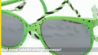 Giant Vintage | Fashion Flashback: 80's Sunglasses