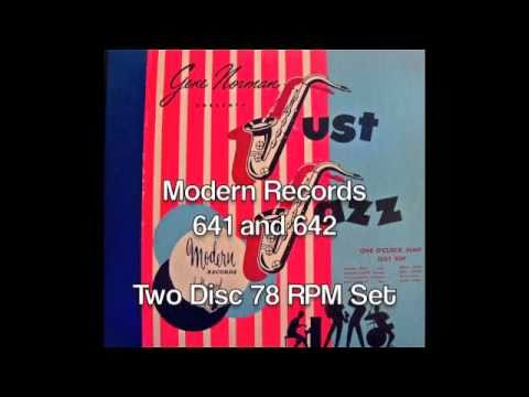 Modern Records 641&642. Gene Norman presents Just Jazz.
