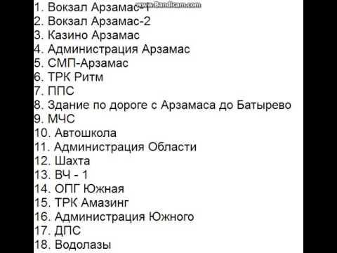 Список подарков на амазинге