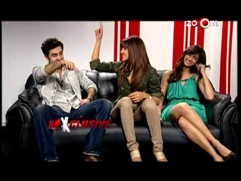 Priyanka, Ileana & Ranbir talk about Barfi! in an exclusive interview on zoOm