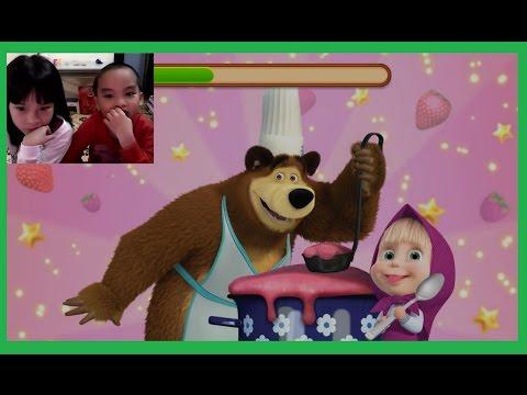 masha and the bear porridge cooking game for kids