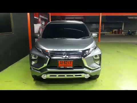 รีวิว Mitsubichi xpander ติดตั้ง Projector Hella 3.2 กับ Ballast FB และ Daylight Audi Style