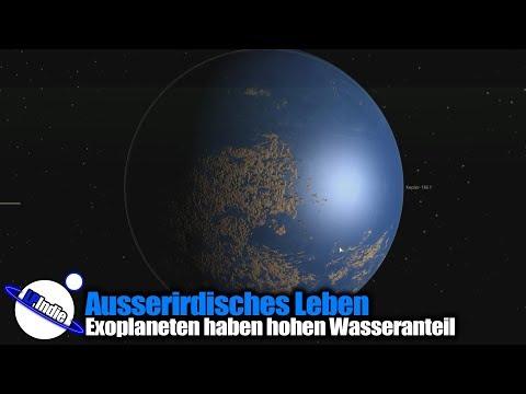 Ausserirdisches Leben: Exoplaneten haben hohen Wasseranteil