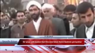 OcaqTv Xeber- Bir qrup milli-mədəni fəal Höccətul-İslam Əzimi Qədimlə görüşüblər