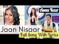 Jaan Nisaar Female Version Lyrics Asees Kaur Kedarnath Sara Ali Khan mp3