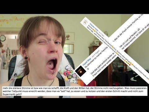 """Hallo Bulimie: Kommentarvideo zu """"Was sind Fressanfälle, was kann man dagegen tun?"""""""
